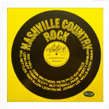 "LP / VA - ✦✦ NASHVILLE COUNTRY ROCK ✦✦ ""Boogie With A Bullet"""